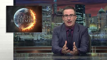 John Oliver on the Paris climate pack pullout