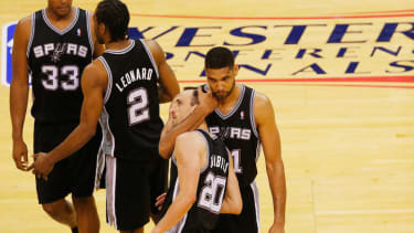 Spurs advance to second-straight NBA Finals
