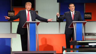 Donald Trump and Ted Cruz are fighting for the evangelical vote