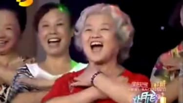 """A Chinese choir tries to out-Gaga Lady Gaga with their own family friendly rendition of """"Bad Romance"""" performed on Hunan TV."""