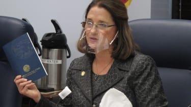 Alaska state Sen. Lora Reinbold.