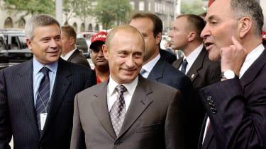 Vladimir Putin and Chuck Schumer.