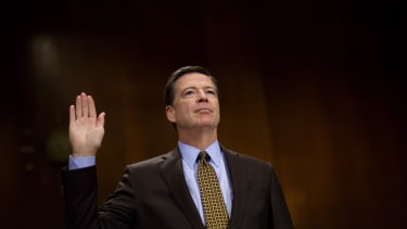 James Comey testifies in front of the Senate Judiciary Committee