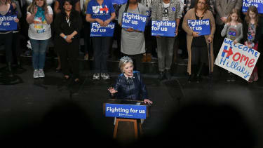 Hillary Clinton won a huge slice of New York's black and Latino voters
