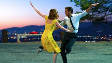 Emma Stone and Ryan Gosling co-star in La La Land.