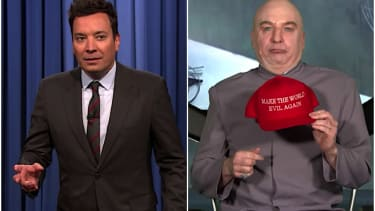 Dr. Evil goes on The Tonight Show