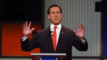 Rick Santorum can't explain his Rubio endorsement.