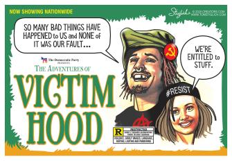Political Cartoon U.S. Democrats Robin Hood socialism