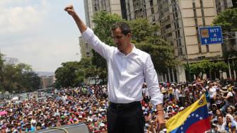 Juan Guaidó.
