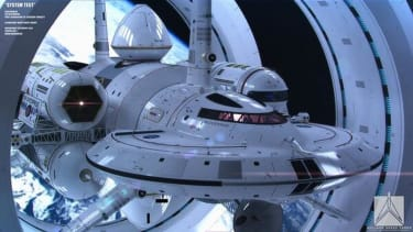 This is what NASA's warp drive spaceship might look like