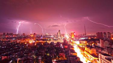 Lightening, China