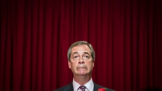 Nigel Farage, leader of the U.K. Independence Party, admitted his party misled voters.