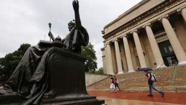 Columbia University campus.