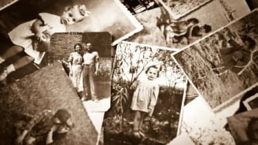 The family that re-created all of their childhood photos