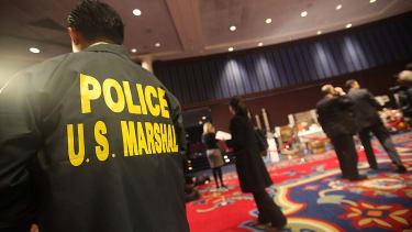 U.S. marshall jacket.