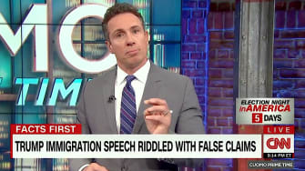 CNN host Chris Cuomo fact-checks Trump on asylum