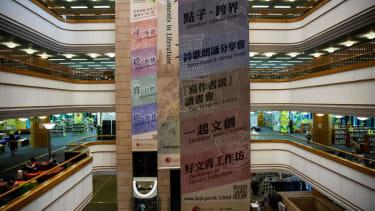 Library in Hong Kong.