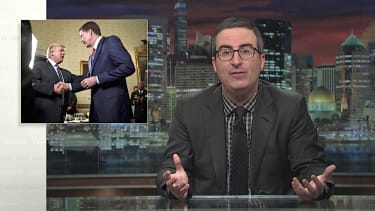 John Oliver asks Congress to step in on Trump after Comey