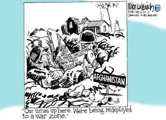 Editorial Cartoon U.S. afghanistan withdrawal mass shootings