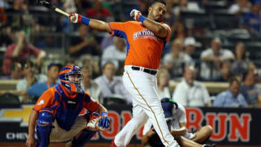 National League All-Star Pedro Alvarez competes in the Home Run Derby Monday night. The All-Star Game will be played Tuesday night in New York City.