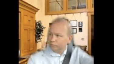 Ohio state senator driving during work videoconference