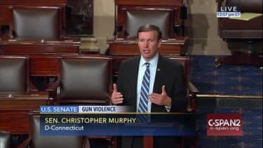 Sen. Chris Murphy (D-Conn.) filibustering on Senate floor for gun control