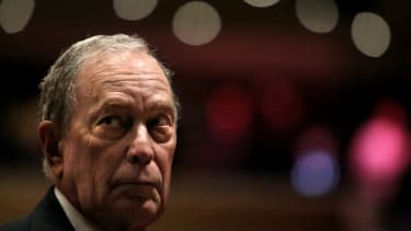 Michael Bloomberg in New York
