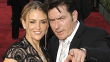 """Charlie Sheen and wife Brooke Mueller: One's in rehab, the other, """"prehab"""""""