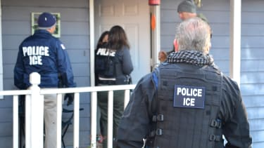 A 2017 ICE raid.