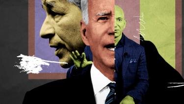 President Biden, Jamie Dimon, and Jeff Bezos.