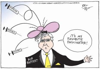 Editorial Cartoon U.S. bob baffert kentucky derby medina spirit