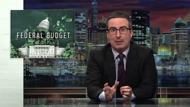 John Oliver tackles Trump's first budget blueprint