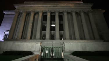 National Archives building.