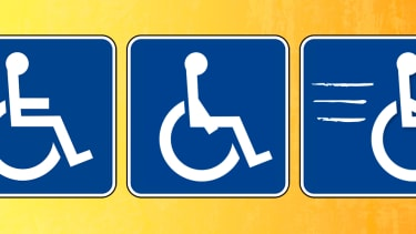 The accessibility logo.