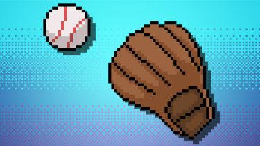 8 bit baseball.