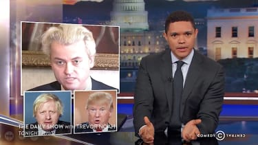 Trevor Noah points out some striking similarities between populists in three countries