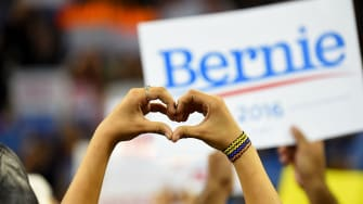 Bernie Sanders, heart attack survivor