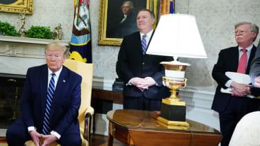 Trump, Mike Pompeo, John Bolton