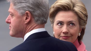 Just the Clintons doing what they do best.