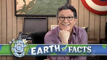 Stephen Colbert celebrates Earth Day