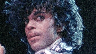 Singer Prince is shown in concert in 1985