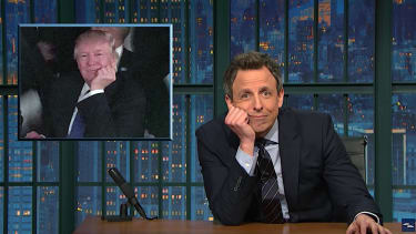 Seth Meyers surveys Trump's national insecurity