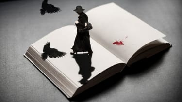 The thrill of a scary book doesn't compare to that of a horror movie.