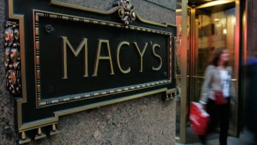 Outside the flagship Macy's in New York City.