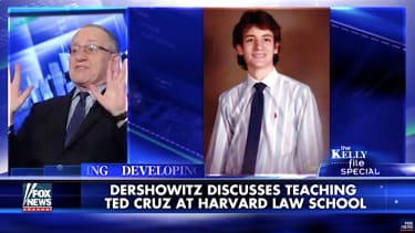 Alan Dershowitz calls Ted Cruz a brilliant law student