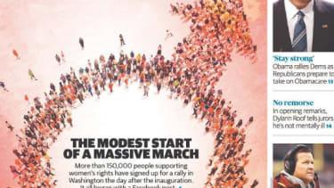 Express magazine cover.