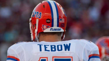 Tim Tebow during his University of Florida days