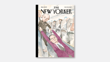 The newest cover of The New Yorker.