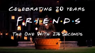 Warner Bros. celebrates Friends' 20th anniversary with a special tribute video