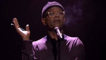 Samuel L. Jackson magically turns a synopsis of Boy Meets World into slam poetry